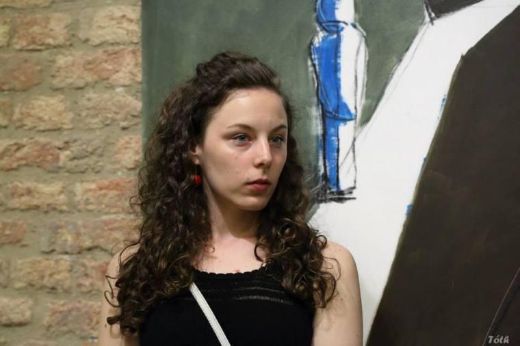 Adrienn Erdei - Exhibition opening, 2016.