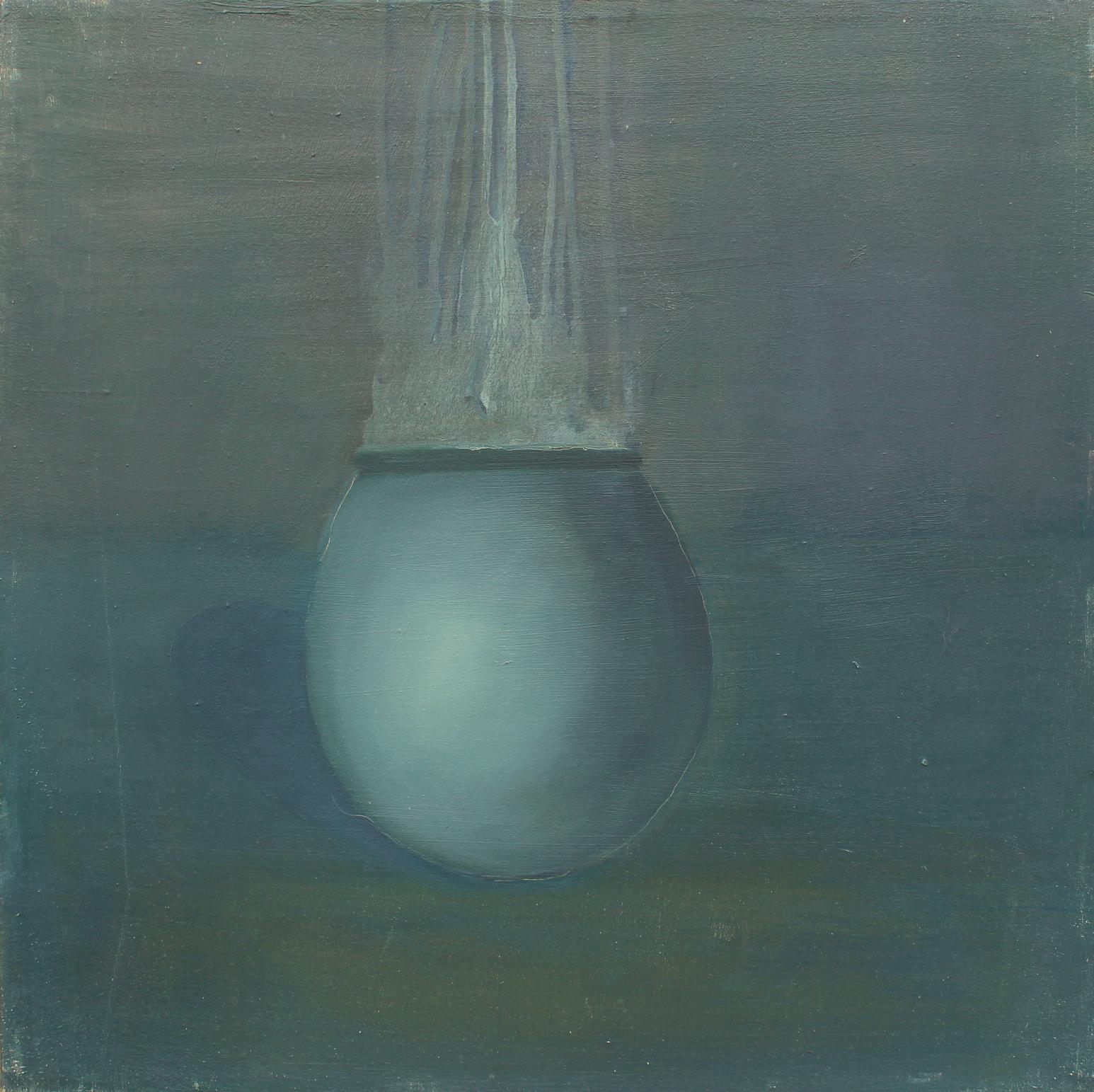 adrienn erdei Portrait series, oil on canvas, 50 × 50 cm, 2014. (5)